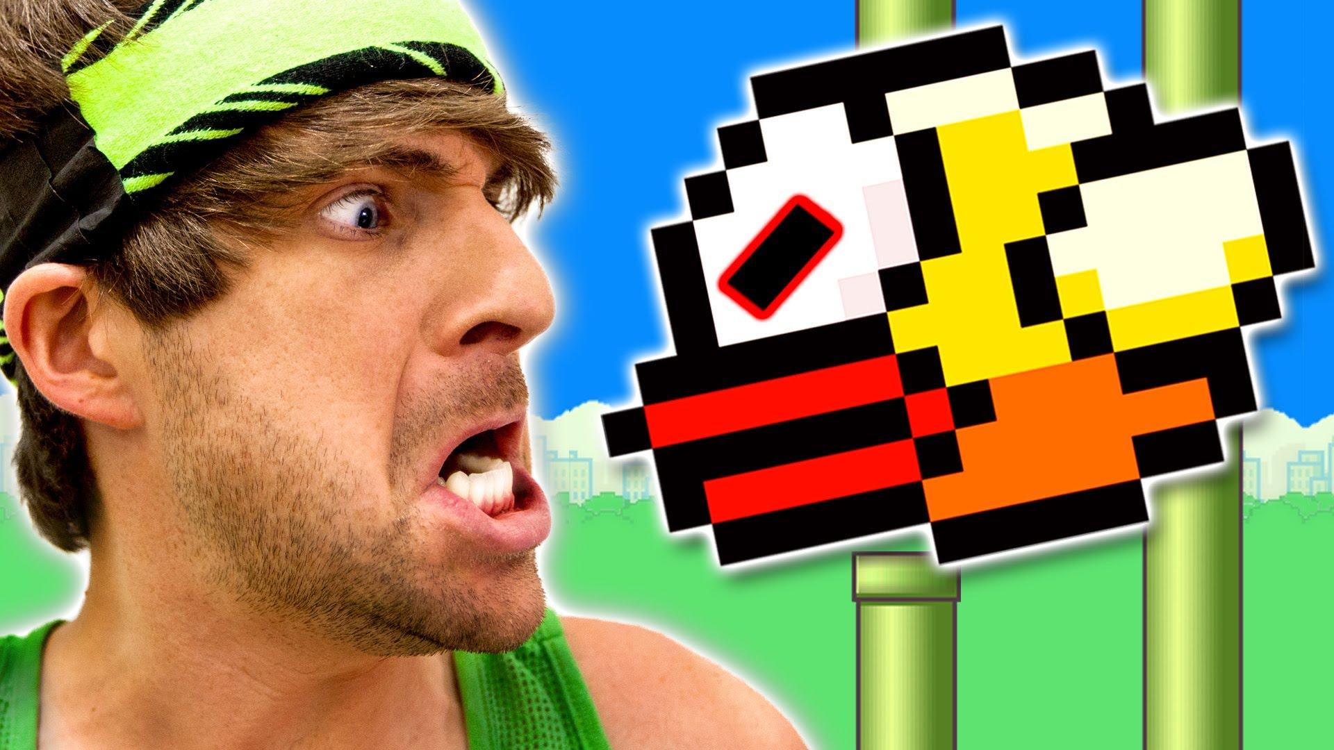 Flappy Bird Ruined My Life Smosh Wiki FANDOM Powered By Wikia - Flappy bird in real life