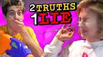 NOAH SOAKS COURTNEY - 2 TRUTHS 1 LIE WATER CHALLENGE