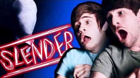 SLENDER MAN MAKES US CRY! (Gametime w Smosh)