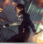 Wes as Winter Soldier