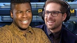INTERVIEW DISASTER with JOHN BOYEGA, CHARLIE DAY, AND SCOTT EASTWOOD