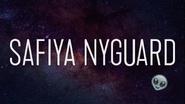 Safiya Nyguard title card