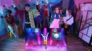 Halloween Just Dance 2020 CourtneyVsDamien screen