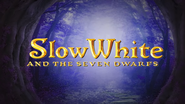 OLODisneyMovies Slow White title card