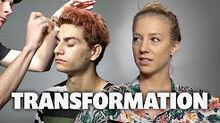 Elks Drug Awareness Makeup Transformation