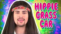 Hippie Grass Car