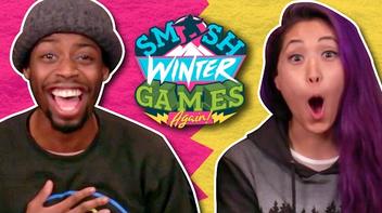 WINTER GAMES FAN ART! (The Show w- No Name - Smosh Winter Games)