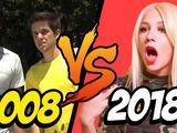 2008 YOUTUBE VS 2018 YOUTUBE