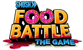 Food battle the game logo