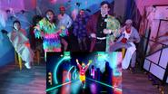 Halloween Just Dance 2020 MariVsDamien screen