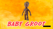 DRAWING MARVEL CHARACTERS FROM MEMORY Baby Groot Slide