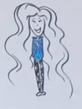 WE TRY TO DRAW EACH OTHER FROM MEMORY Round 3 Courtney