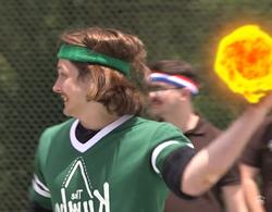 Wes throws meteors