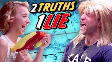 THE TRUTH ABOUT COURTNEY FREAKING MILLER - 2 TRUTHS 1 LIE CHALLENGE