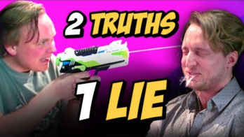 2 TRUTHS 1 LIE with GUS JOHNSON