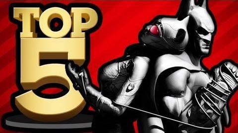 BEST SUPER HERO VIDEO GAMES (Top 5 Friday)
