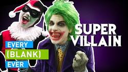 Every Super Villain Ever