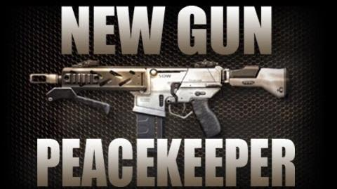 Black Ops 2 - Peacekeeper SMG Gameplay + Review (Call of Duty BO2 Peace Keeper Revolution DLC)