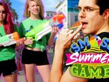 SEXY WET T-SHIRT CONTEST! (Smosh Summer Games)
