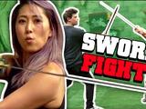 WE LEARN SWORDFIGHTING