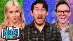 Markiplier, Steven Suptic, and Lily Marsten You Posted That