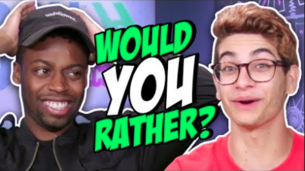 WE PLAY WOULD YOU RATHER? (Squad Vlogs)
