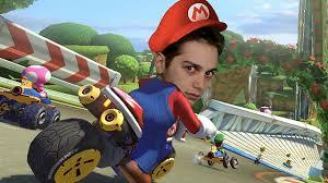 We Grand Prix in Mario Kart 8