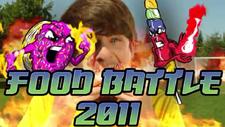 Food Battle 2011 Title