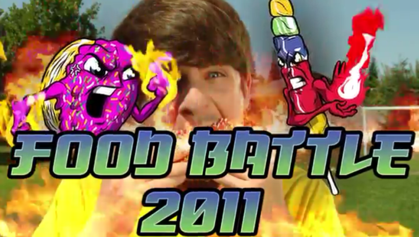 Food Battle Smosh Wiki Fandom Powered By Wikia
