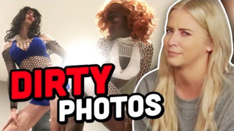 SHARING OUR DIRTIEST & CRAZIEST PHOTOS w- CLEVVER'S LILY MARSTON!