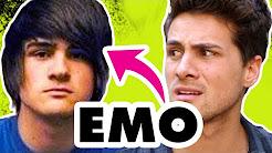 Emo hair!
