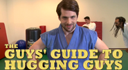 Guys' Guide to Hugging Guys Title Card