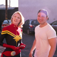 Captain Marvel and Shayne