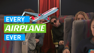 EVERY AIRPLANE EVER ending card