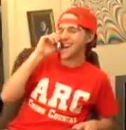 Ian in T-shirt ARC