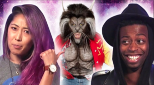 REACTING TO THE BEST CELEBRITY COSTUMES