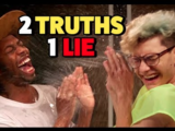 2 TRUTHS, 1 LIE - WATER CHALLENGE (Squad Vlogs)