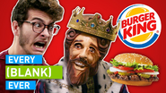EVERY BURGER KING EVER Twitter thumbnail