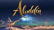 OLODisneyMovies Aluddin title card