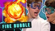 Crazy Fire Bubbles (Smosh Lab)