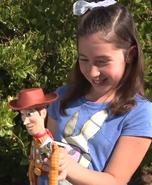 Sadie with Woody