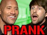 The Rock Interview PRANK