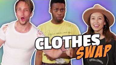 EXTREME CLOTHES SWAP CHALLENGE