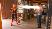IF MARVEL CHARACTERS WERE REAL Captain Marvel