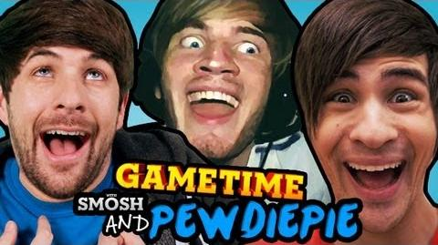 PEWDS & SMOSH'S MADAGASCAR (Gametime w Smosh)
