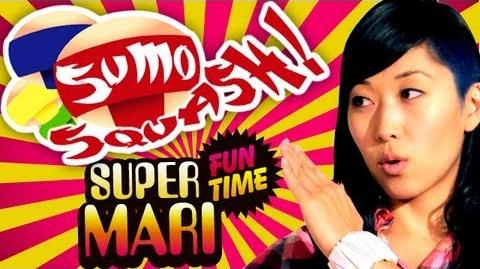 MARI SUMO SQUASHES DR. COOL SEX (Super Mari Fun Time)