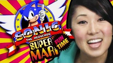 SONIC SPEED RUN...KIND OF (Super Mari Fun Time)