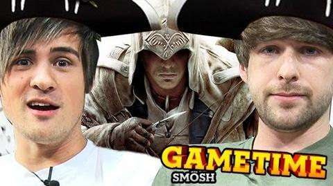 SHOOTIN' MOFOS WITH A BOW (Gametime with Smosh)
