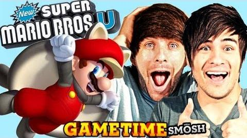 TROLLING IN MARIO U (Gametime with Smosh)