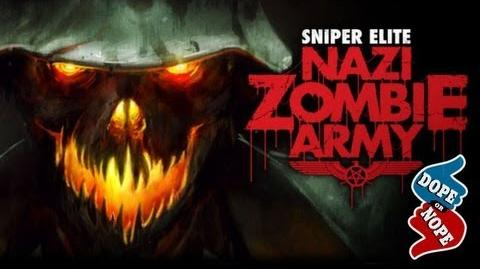 SHOOTING ZOMBIES NAZIS IN THE BALLS (Dope! or Nope)
